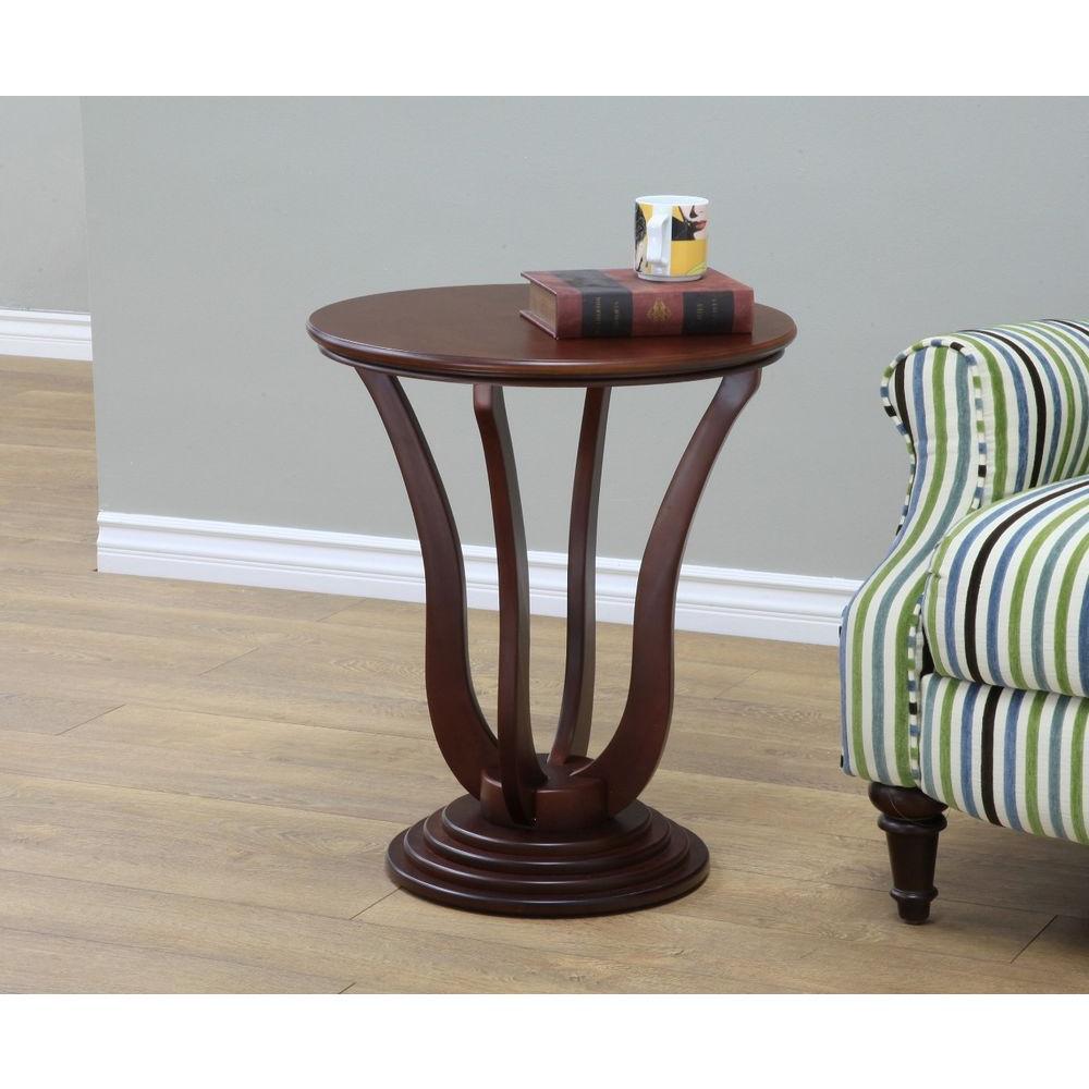 Dark Walnut End Table