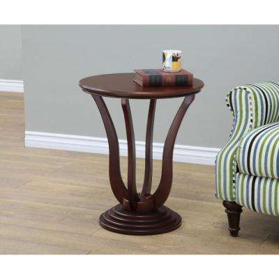 Dark Walnut End Table