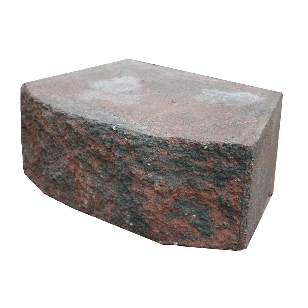 Block Board Home Depot ~ Basalite in red charcoal retaining wall block
