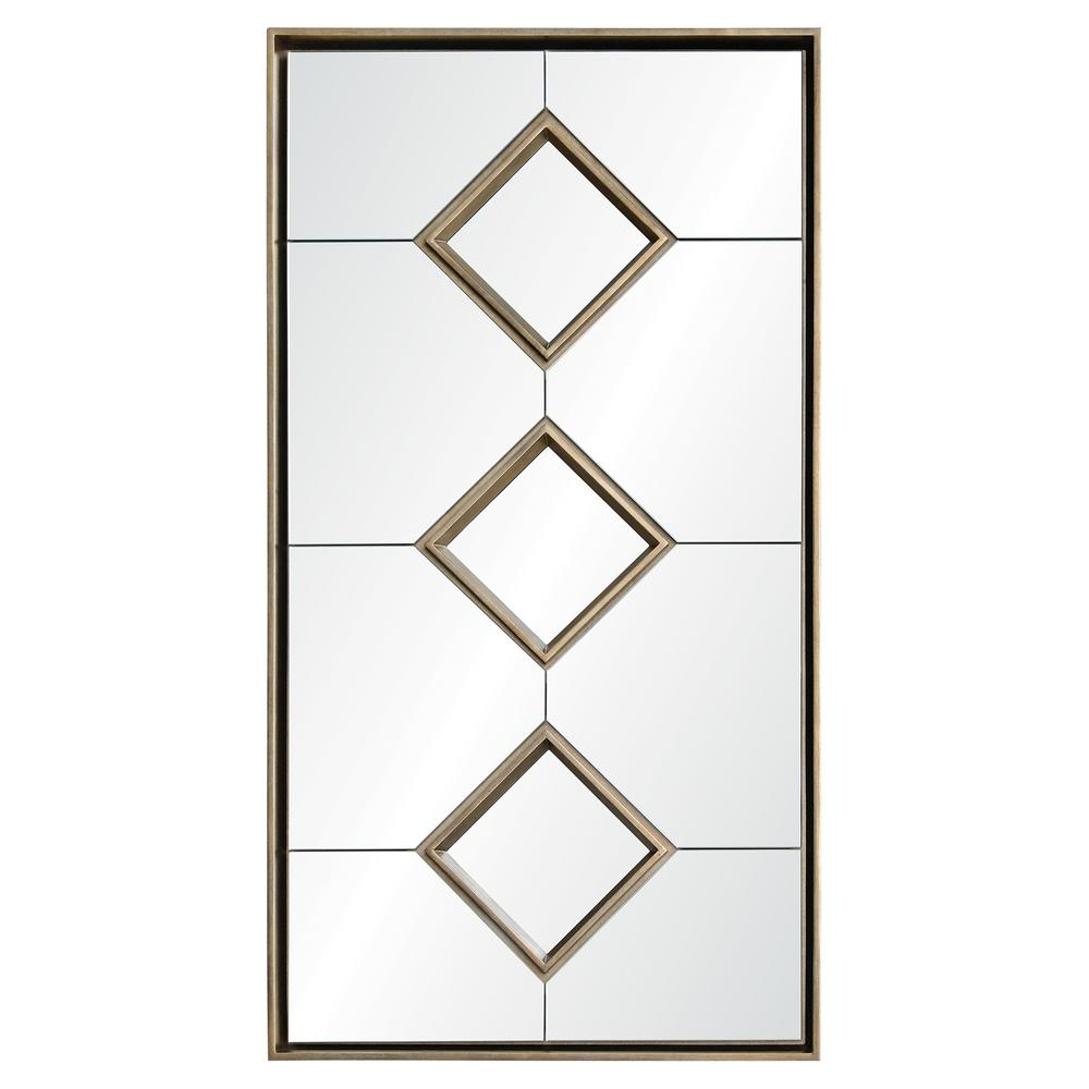 Paxton 60 in. x 32 in. Framed Wall Mirror