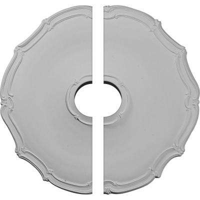 18-7/8 in. O.D. x 3-1/2 in. I.D. x 1-1/2 in. P Pompeii Ceiling Medallion (2-Piece)