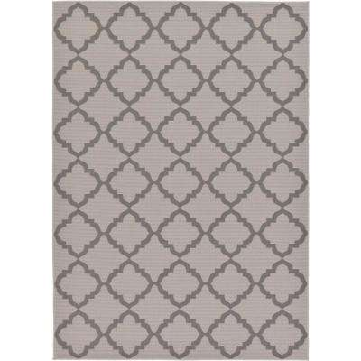 Outdoor Gray 7 X 10 Indoor Rug