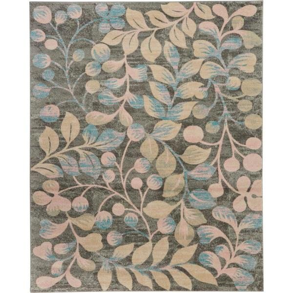 Nourison Tranquil Tra03 Beige And Grey