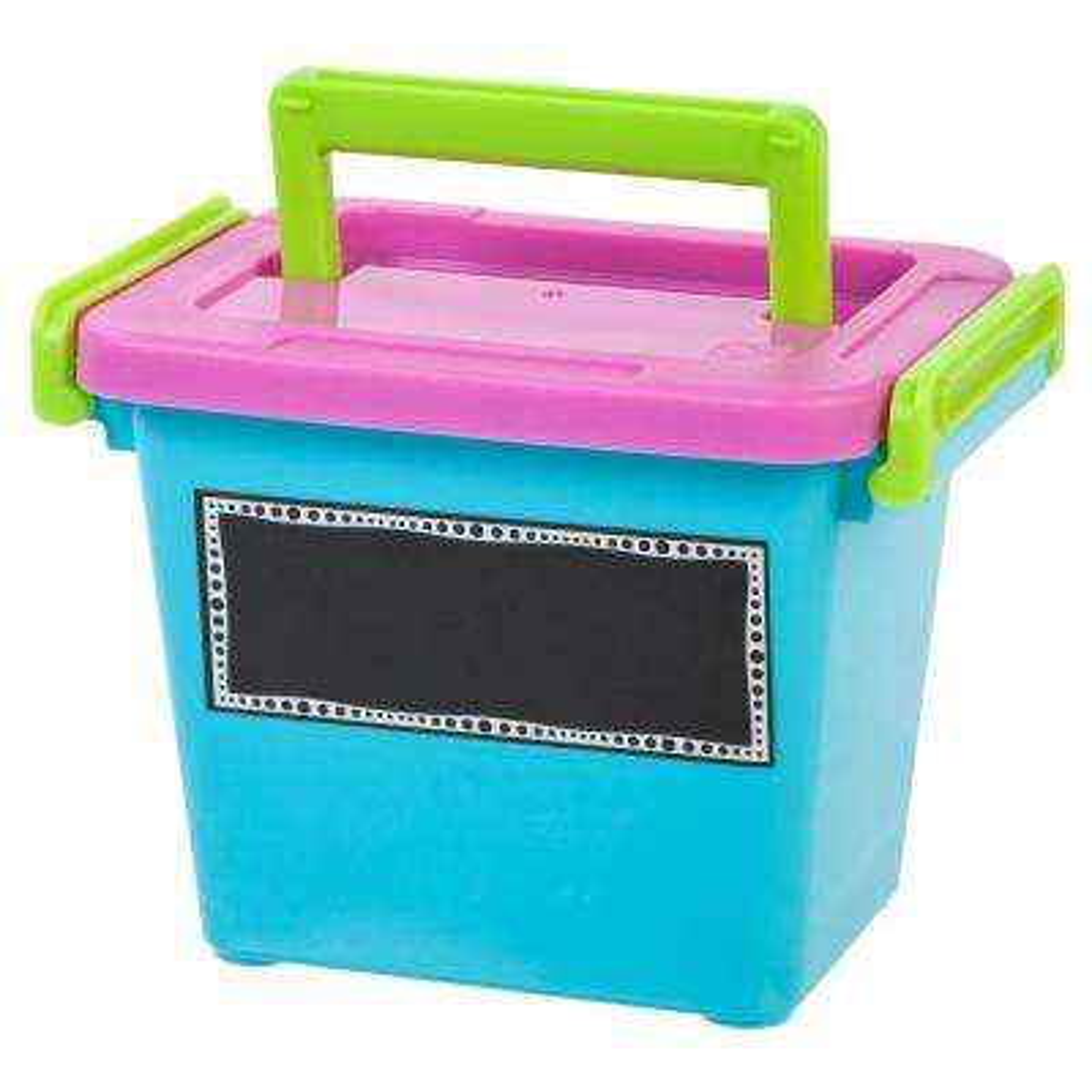 2.0-Qt. Modular Latching Box in Pink (8-Pack)