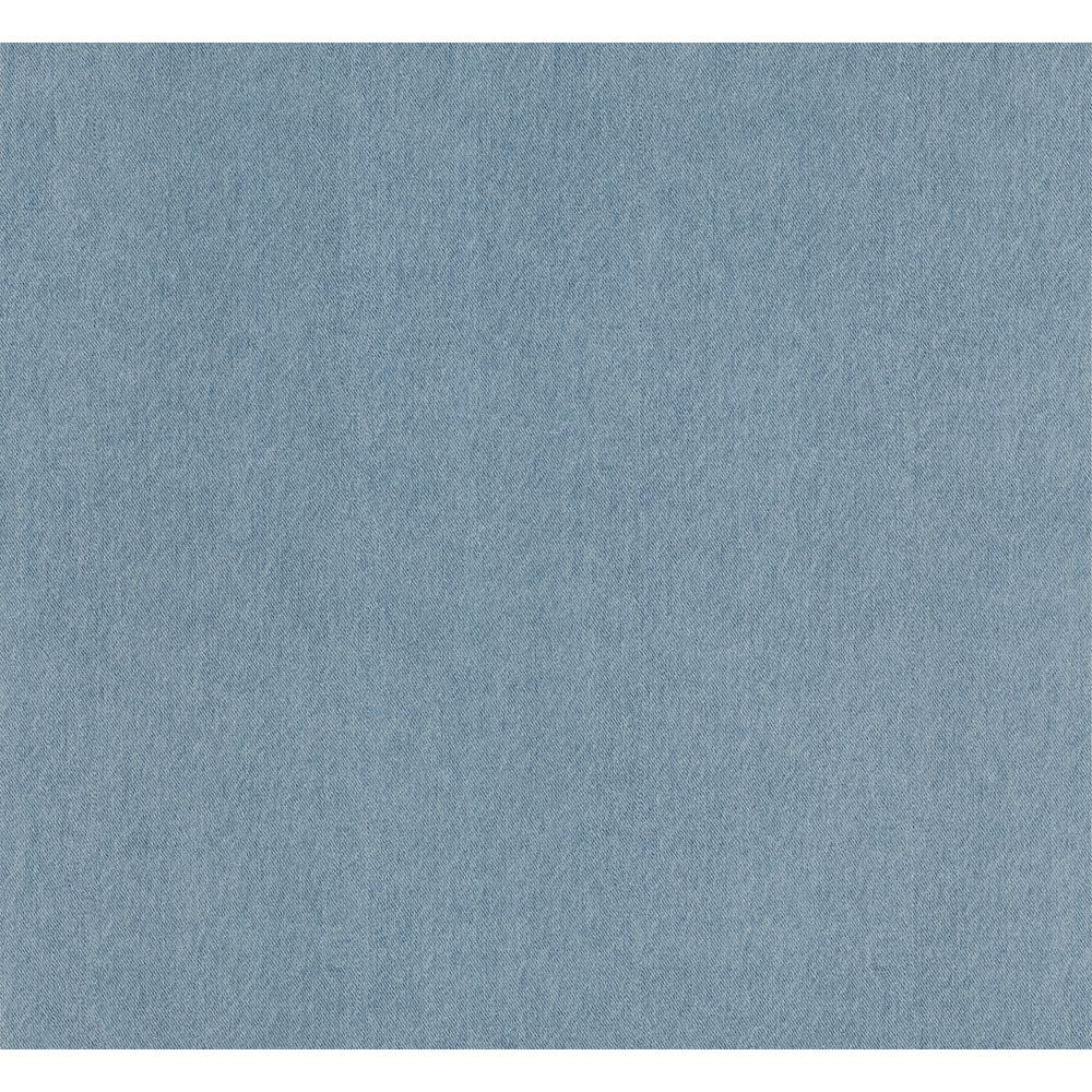 The Wallpaper Company 56 sq. ft. Blue Denim Texture Wallpaper