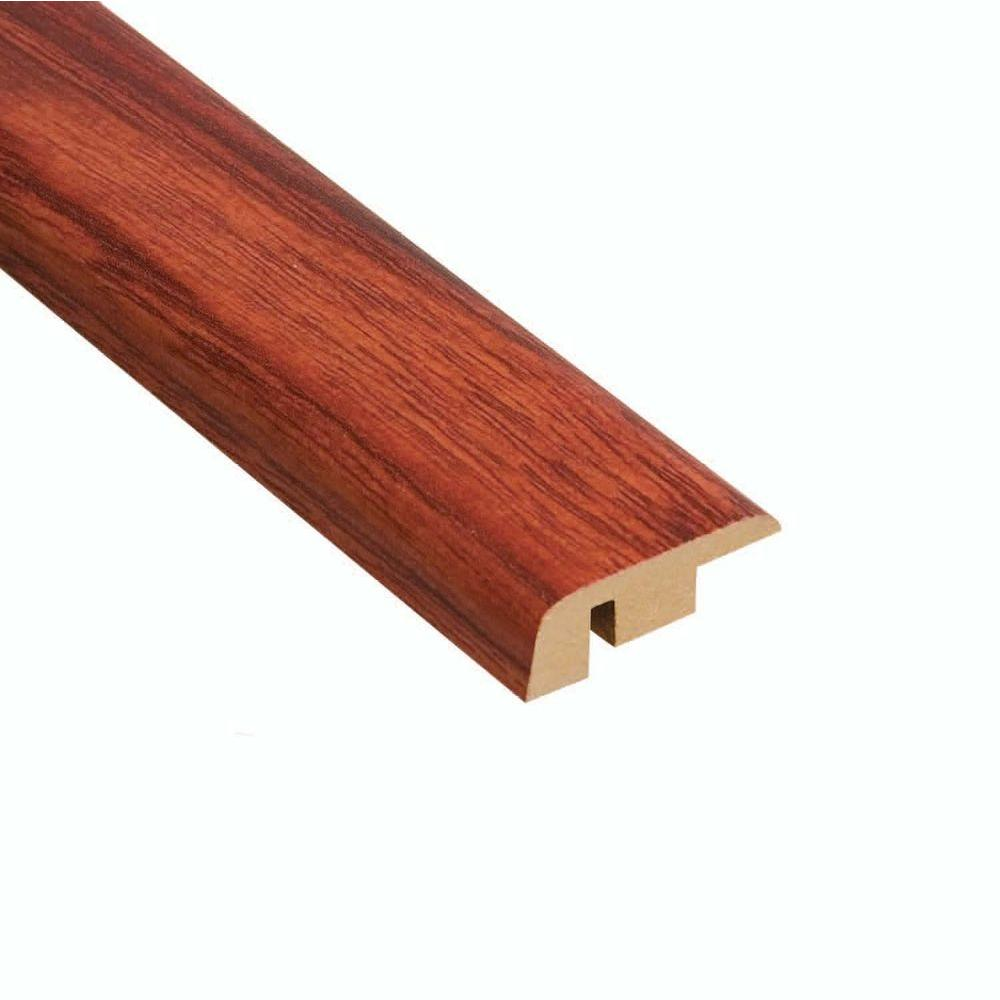 Home Legend Brazilian Cherry 11.13 mm Thick x 1-5/16 in. Wide x 94 in. Length Laminate Carpet Reducer Molding-DISCONTINUED