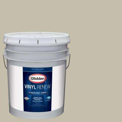 5 gal. #HDGWN53 Grey Birch Low-Lustre Exterior Paint with Primer