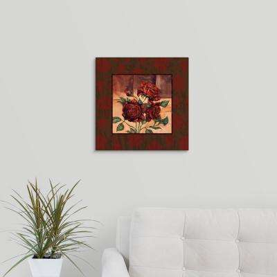 """Rose - Square"" by  Paul Brent Canvas Wall Art"