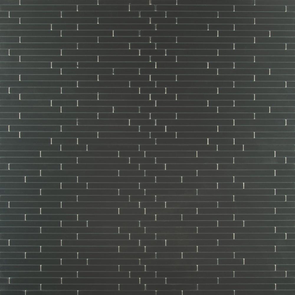 Silverina Interlocking Peel and Stick 12 in. X 11 in. X 5 mm Metal Mosaic Tile ( 0.920 sq. ft.)
