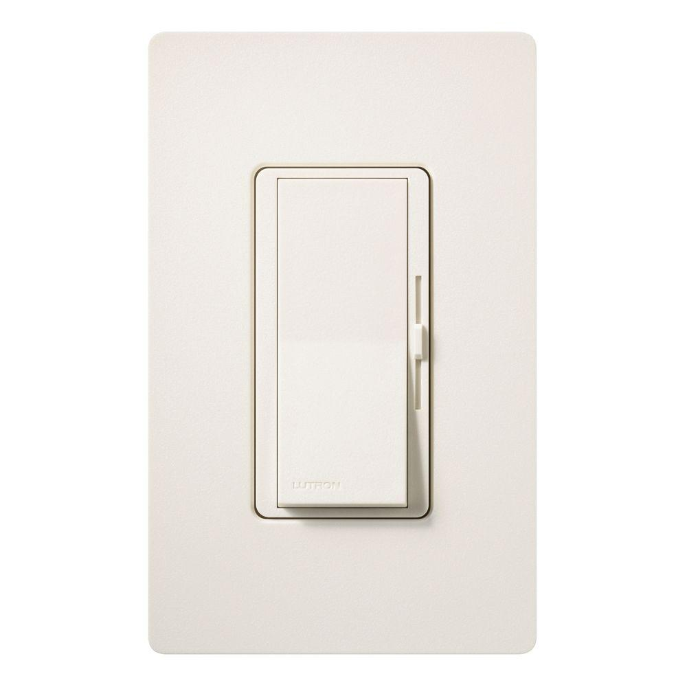 Diva Electronic Low Voltage Dimmer, 300-Watt, Single-Pole or 3-Way, Biscuit
