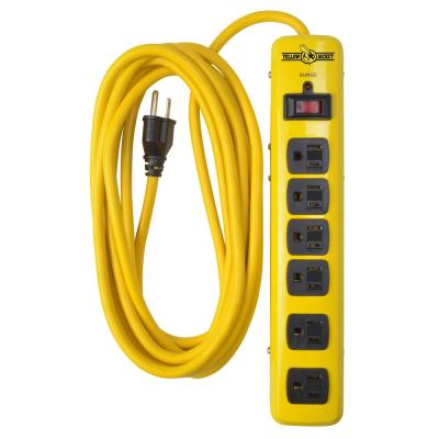 15 ft. 6-Outlet 1,440-Joule Surge Protector Power Strip