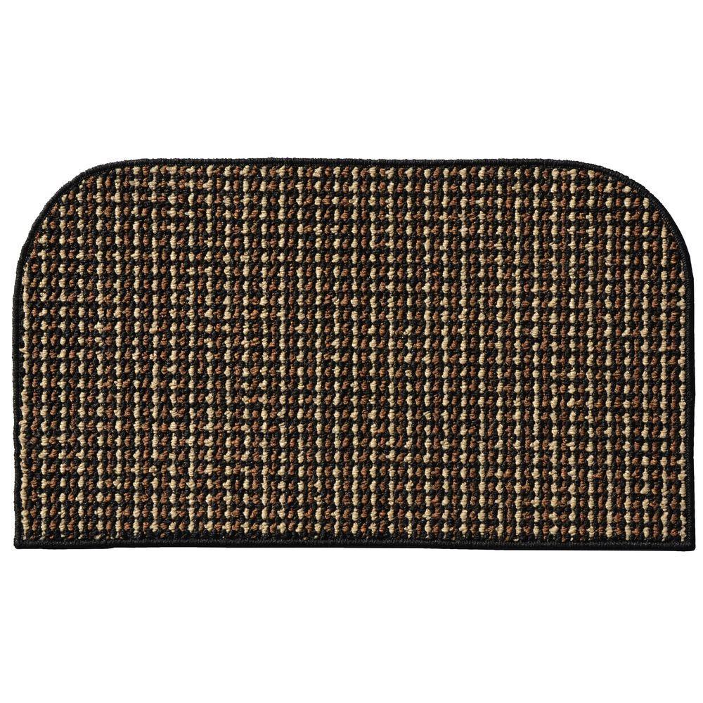 Click here to buy Garland Rug Berber Coloriations Black 18 inch x 30 inch Accent Rug by Garland Rug.
