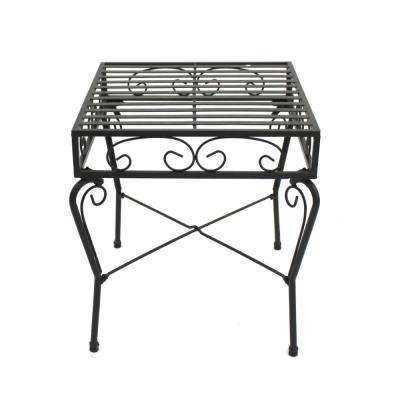 French Quarter Collection Steel Outdoor Side Table