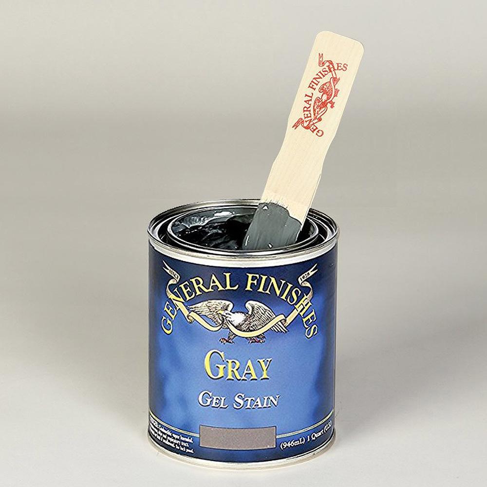 1-qt. Gray Oil-Based Interior Wood Gel Stain