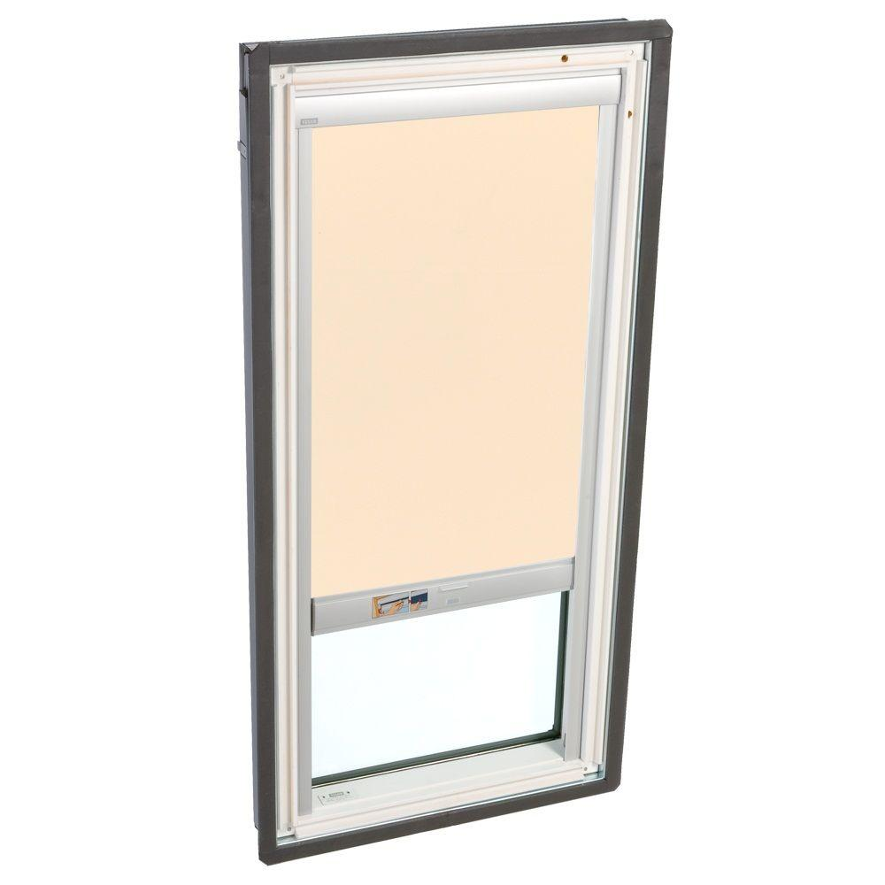 VELUX Beige Solar Powered Light Filtering Skylight Blind for FS/FSR D06 Models