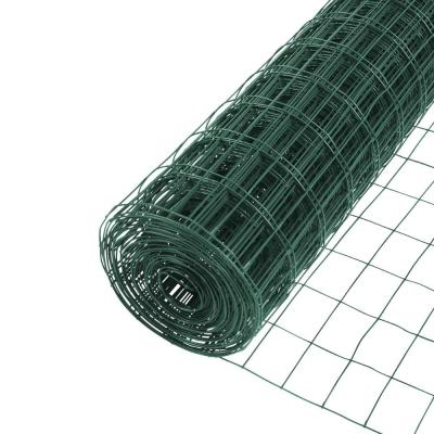 4 ft. x 50 ft. Green PVC Coated Welded Wire