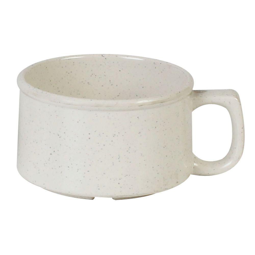 Restaurant Essentials Sandova 9 oz., 4 in. Soup Mug (12-Piece)