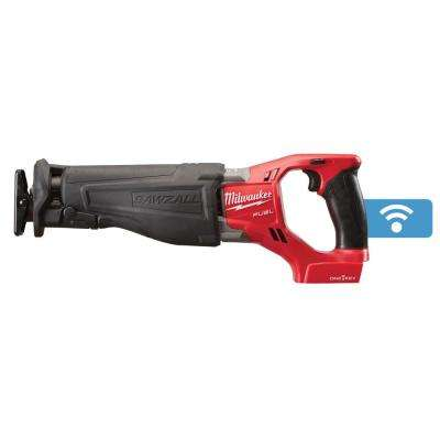 M18 FUEL ONE-KEY 18-Volt Lithium-Ion Brushless Cordless SAWZALL Reciprocating Saw (Tool-Only)