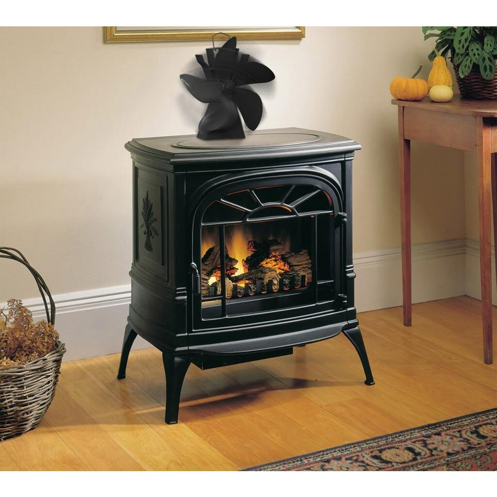 Home Complete Heat Powered Wood Burning Stove Fan Hw0200206 The