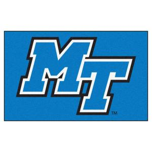 huge discount 7459b ad43c FANMATS NCAA Middle Tennessee State University Blue 5 ft. x 8 ft. Area Rug