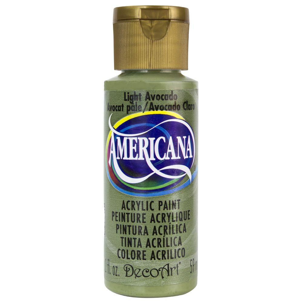 Americana 2 oz. Light Avocado Acrylic Paint