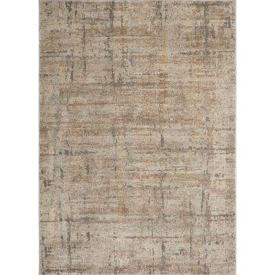 Kenmare Fasano Beige/Gray 31.5 in. x 47 in. Indoor Area Rug