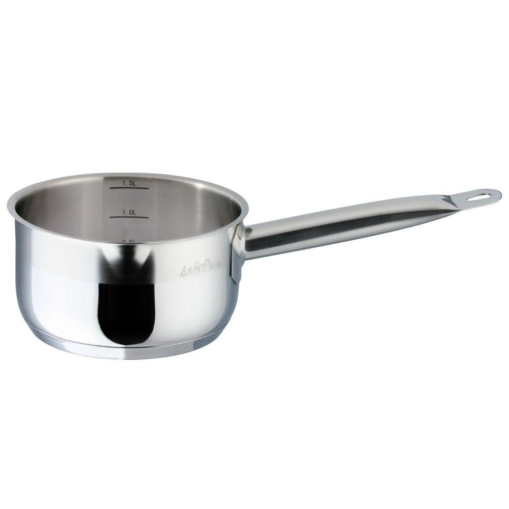 Art & Cuisine Professional 1.6 qt. Saucepan with Lid-DISCONTINUED