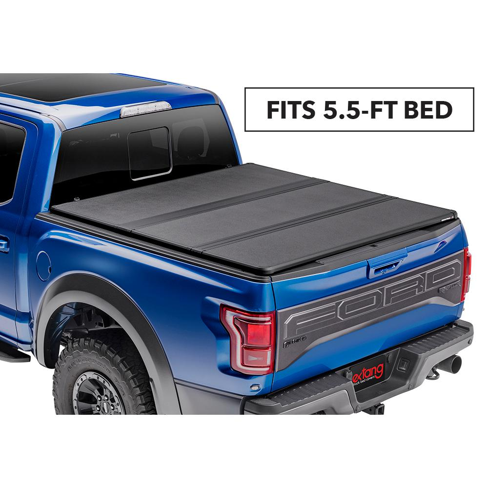 Extang Solid Fold 2 0 Tonneau Cover For 04 08 Ford F150 05 08 Lincoln Mark Lt 5 Ft 6 In Bed 83780 The Home Depot