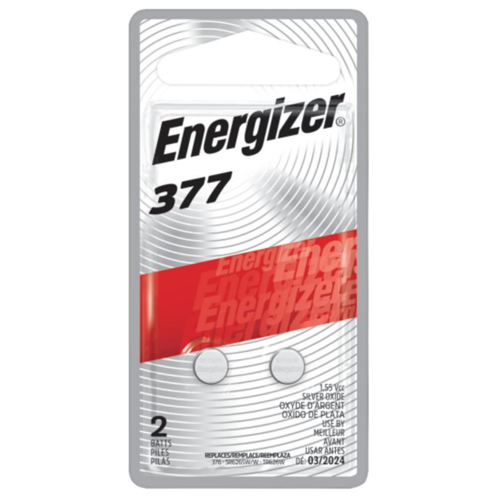 Energizer 377 2 PK Watch Electronic Battery