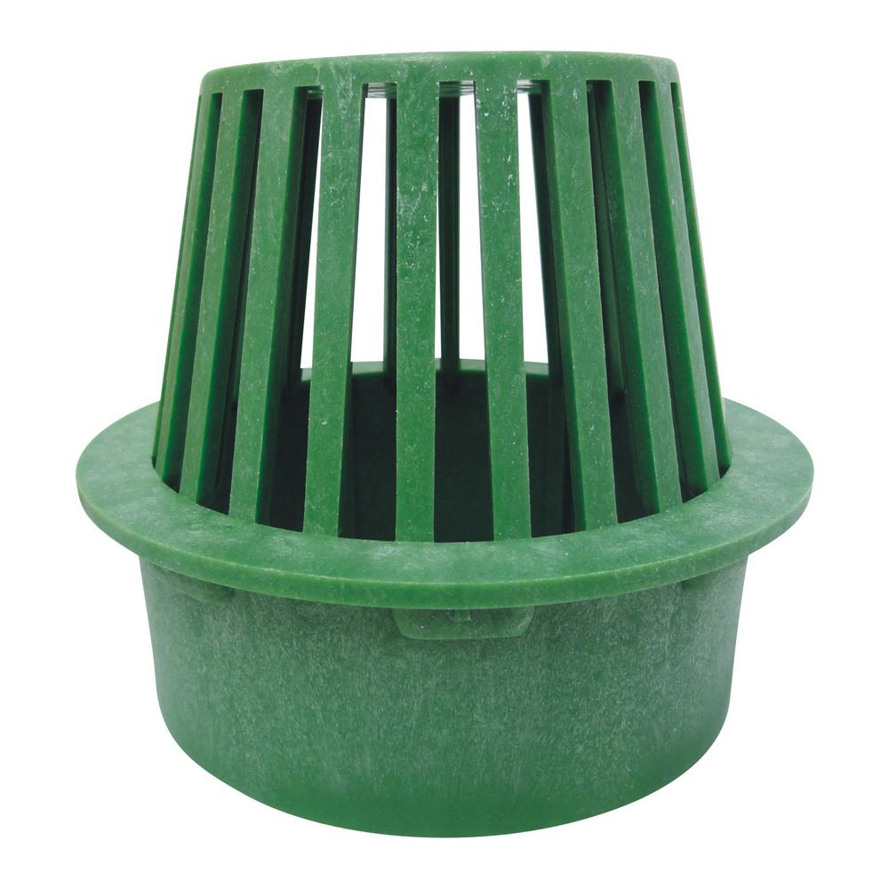 Reln 6 In Atrium Green Grate 000214 The Home Depot