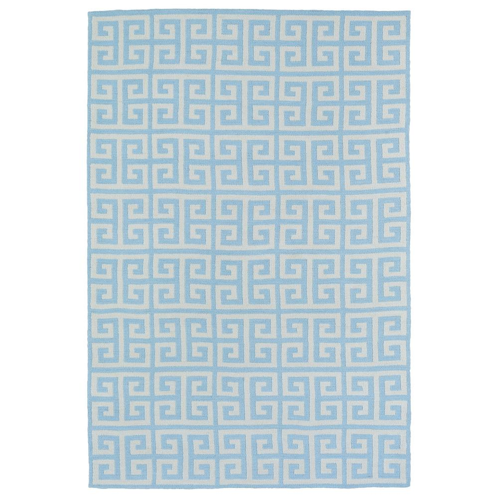 Lily and Liam Blue 8 ft. x 10 ft. Area Rug