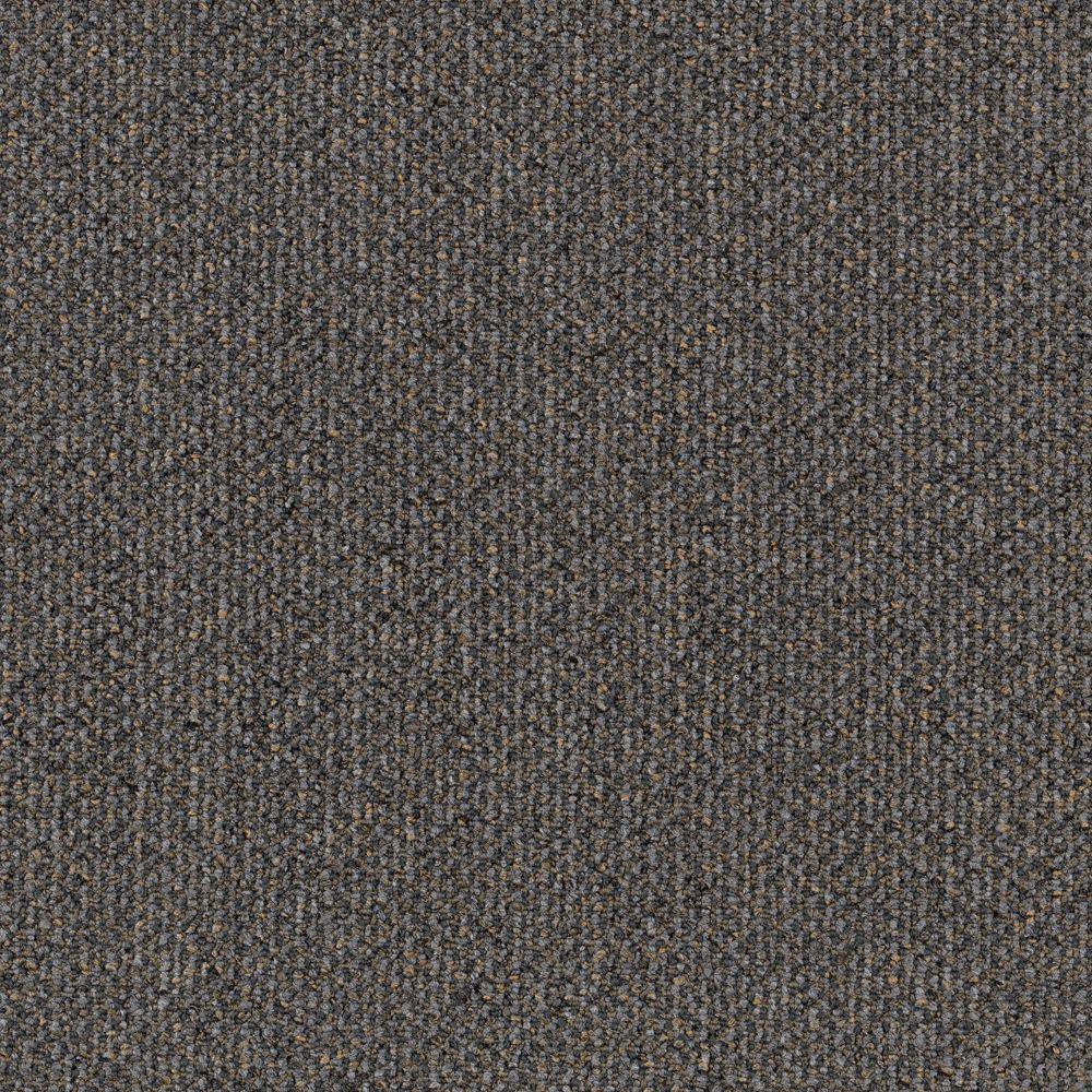 Carpet Sample - Social Network I - Color Pewter Loop 8 in x 8 in