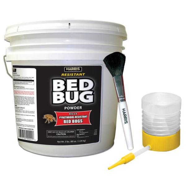 80 oz. Resistant Bed Bug Powder with Applicator Brush