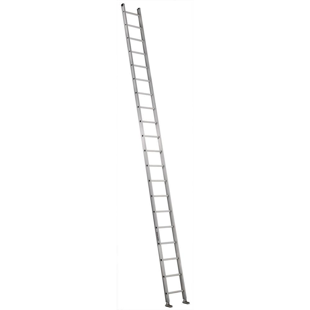 20 ft. Aluminum Single Ladder with 300 lbs. Load Capacity Type
