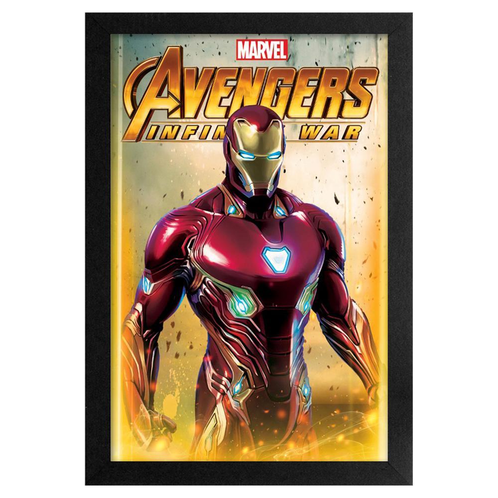 Avengers- Infinity War - Iron Man 11x17 Framed Print