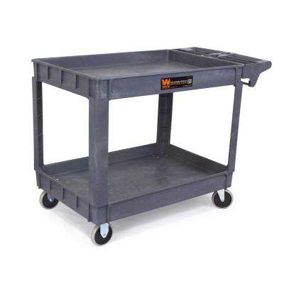 500 lbs. Capacity 46 in. x 33.5 in. Service Utility Cart