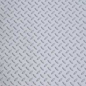 Diamond Deck Metallic Silver 5 ft. x 9 ft. Golf Cart Mat by Diamond Deck