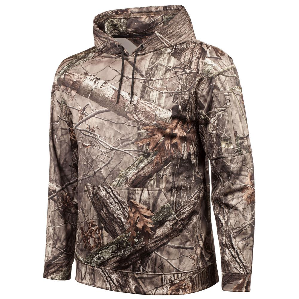 d3a019bad4800 HUNTWORTH Men's Mid Weight Performance Fleece Hunting Hoodie-E-924 ...