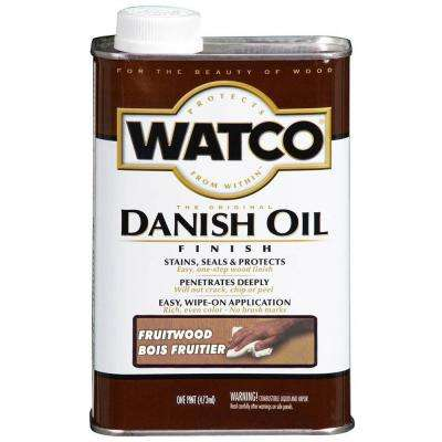 1 pt. Fruitwood 275 VOC Danish Oil (4-Pack)