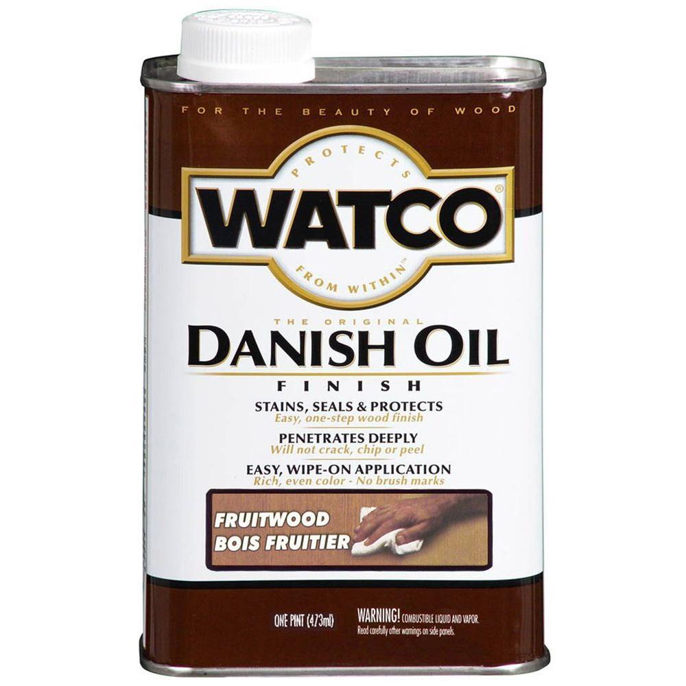 1 pt. Fruitwood 275 VOC Danish Oil (Case of 4)