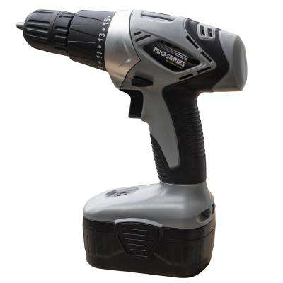 18-Volt Cordless 3/8 in. Power Drill Kit