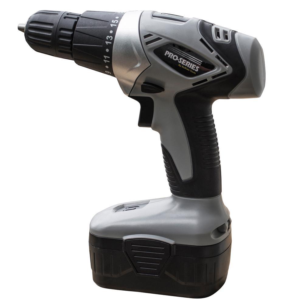 18-Volt Cordless 3/8 in. Power Drill Kit