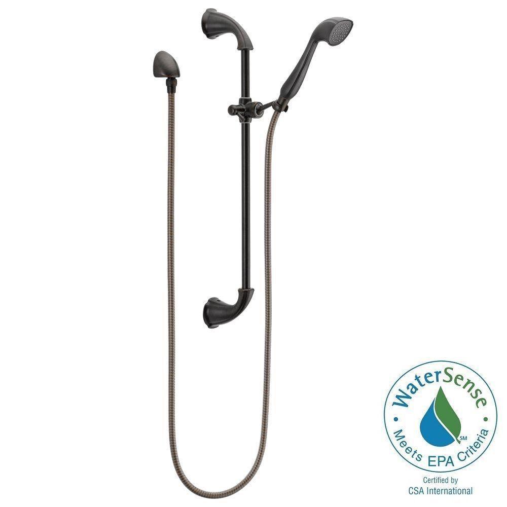 Addison 1-Spray Slide Bar Hand Shower in Venetian Bronze