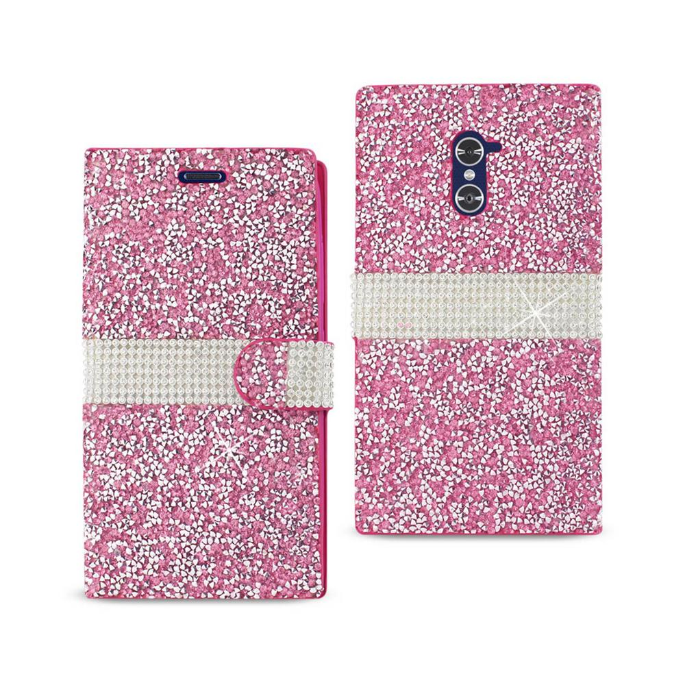 ZTE Grand X Max Folio Case in Pink
