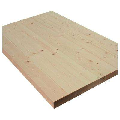 1 in. x 18 in. x 72 in Allwood Pine Project Panel