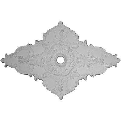 2 in. x 67-1/4 in. x 43-3/8 in. Polyurethane Melchor Diamond Ceiling Medallion Moulding