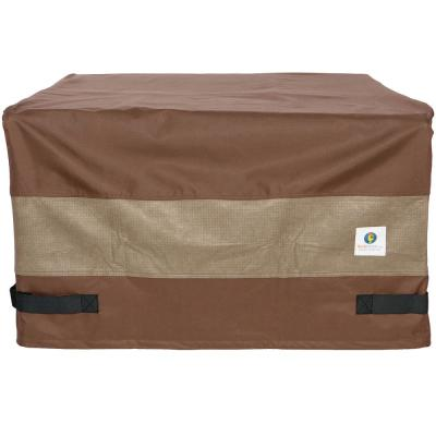 Patio Square Fire Pit Cover Waterproof UV Protector Grill BBQ Covers for Outdoor