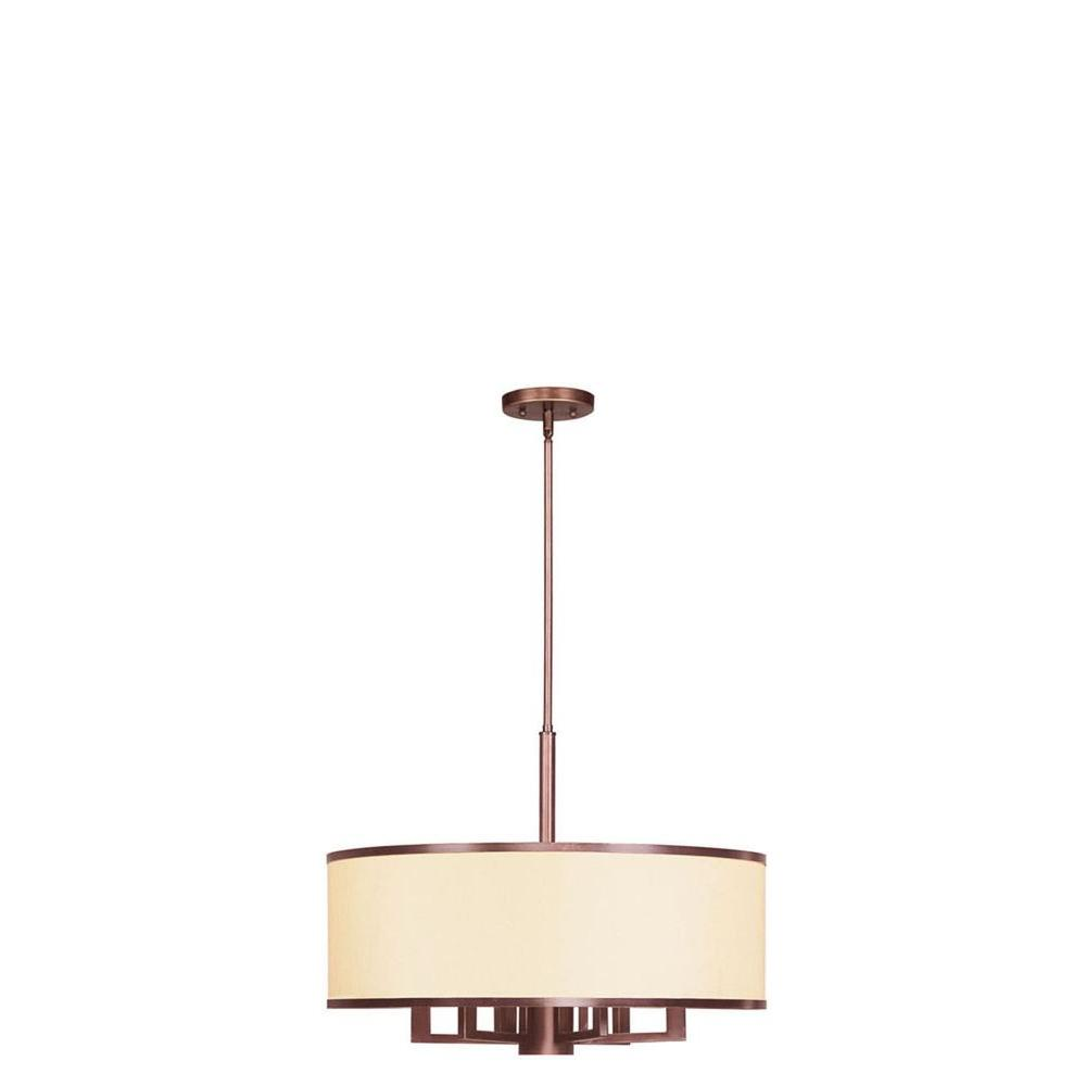 Providence 7-Light Vintage Bronze Incandescent Ceiling Chandelier