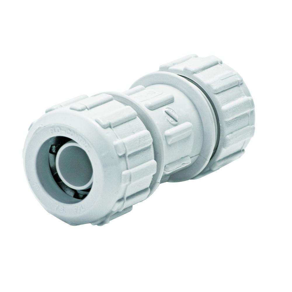 Flolock in pvc compression coupling rtl the