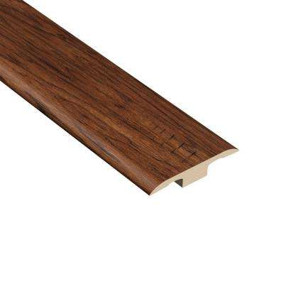 Reno Hickory 1/8 in. Thick x 1-3/8 in. Wide x 94-1/2 in. Length Vinyl T-Molding